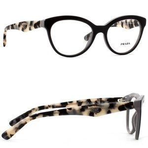 Prada   Tortoise Shell Glasses Frames with Case